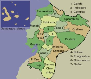south america ecuador portoviejo maps